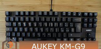 AUKEY KM-G9 copertina