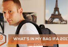 IFA 2017 Guerz86 zaino what's in my bag