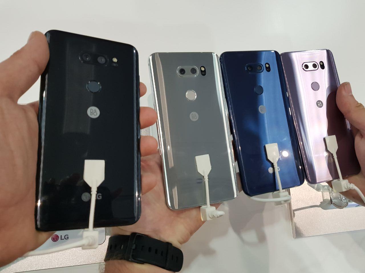 LG V30 IFA 2017着色