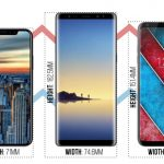samsung galaxy note 8 lg v30 iphone 8