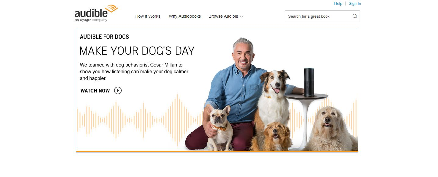 audible for dogs 1