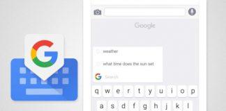 tastiera Gboard Google