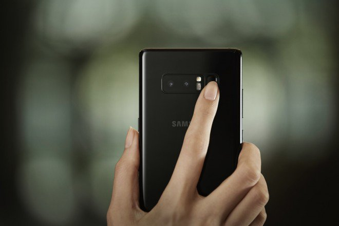 Samsung Galaxy Note 8 dual camera