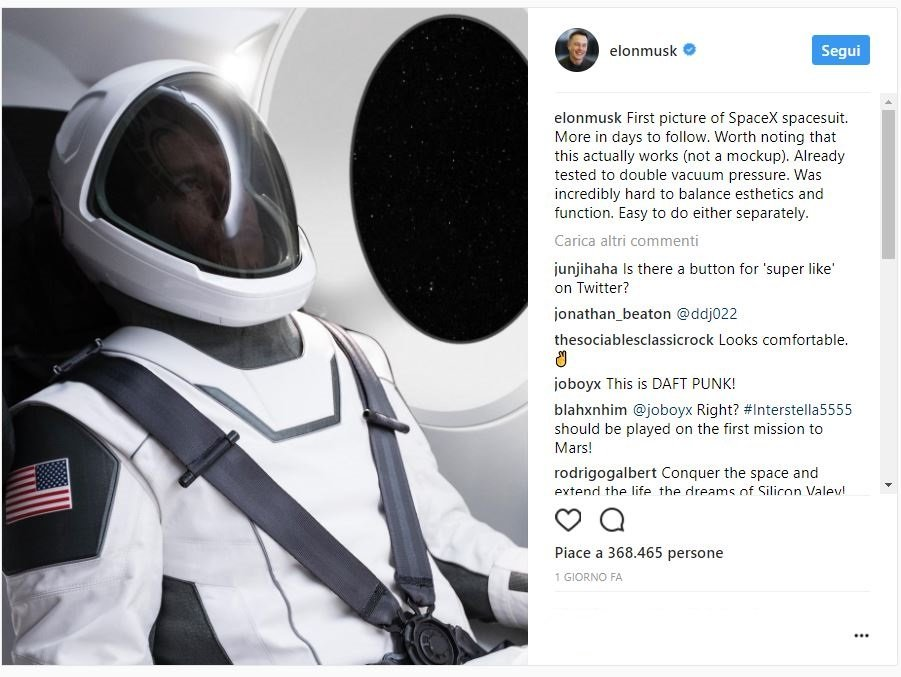 tesla-spaceX-instagram