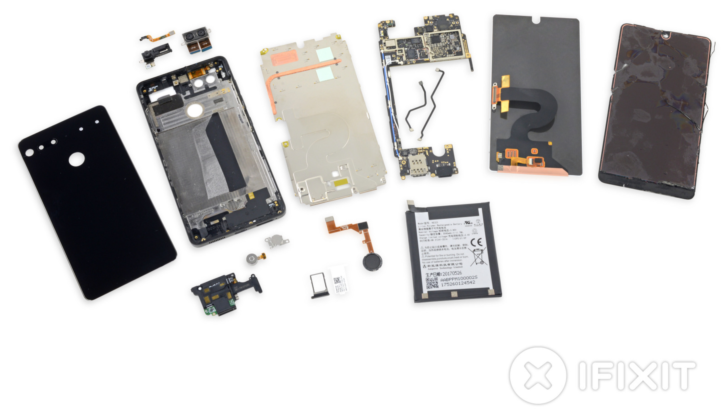 Essential Phone teardown