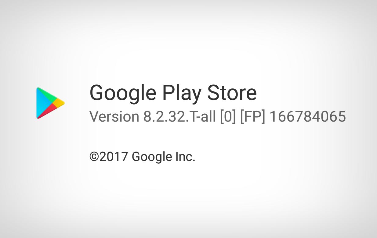 Google Play Store 8.2.32