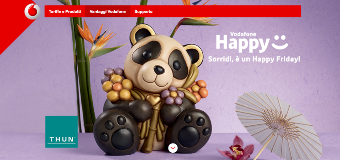 22eab733724 Vodafone Happy Friday: como regalo 10 de descuento en euros en las tiendas  Thun