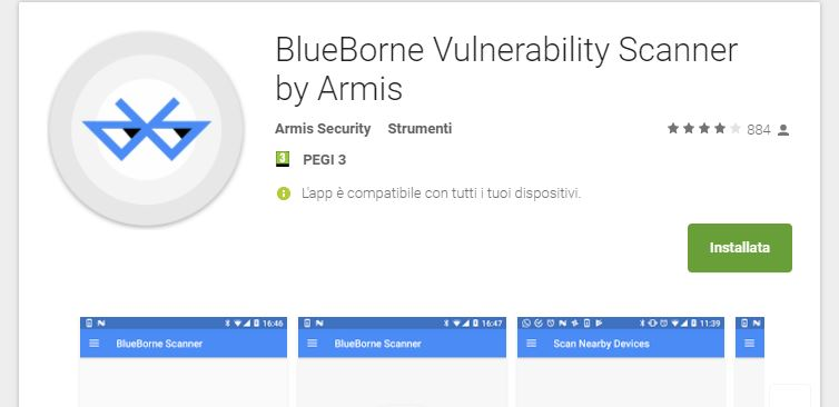 blueborne-vulnerability-scanner-android-malware