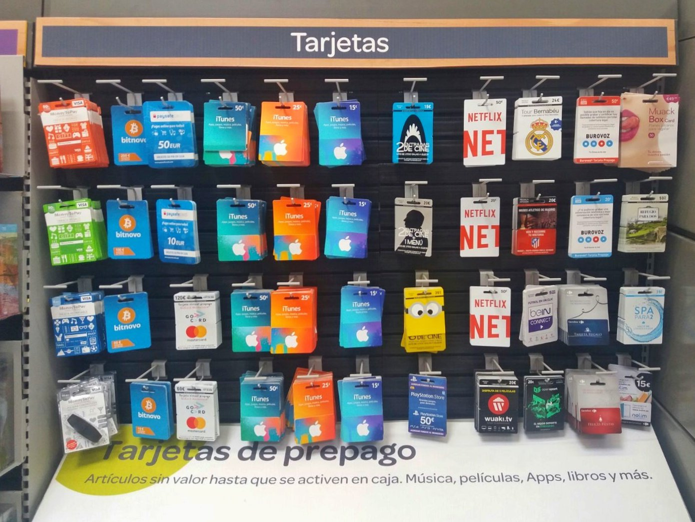 Bitcoin In Spain You Can Buy Them At Carrefour Gizblog It
