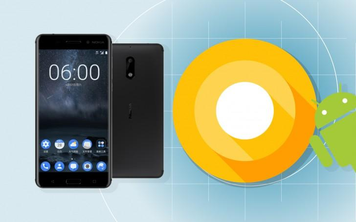 Nokia 8 Android 8.0 Oreo update