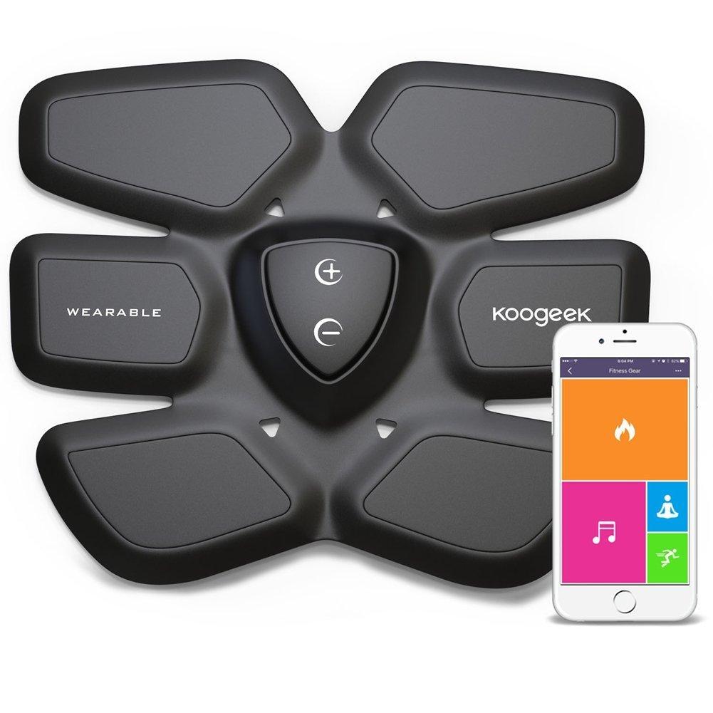 Offerta Amazon: Elettrostimolatore Muscolare smart Koogeek