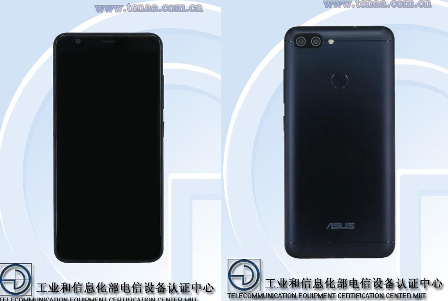 ASUS X018DC dual camera schermo 18:9