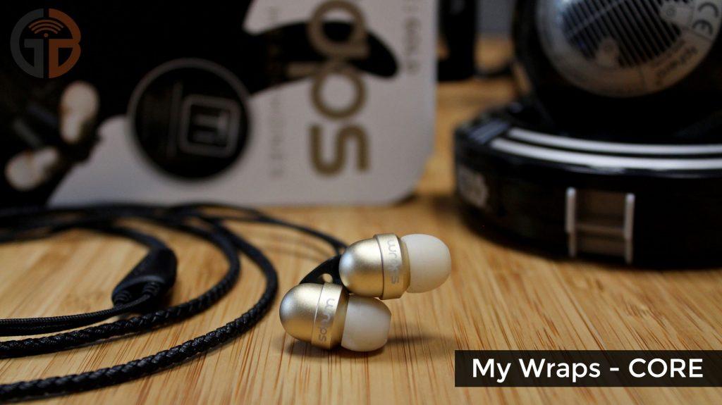 Recensione cuffie MyWraps - MyWraps Core