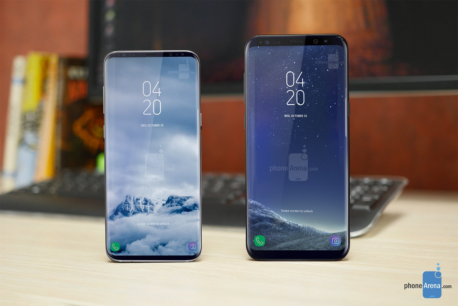 samsung galaxy s9 screen-to-body 90%