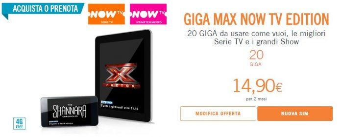 Wind Giga Max Now Tv Edition