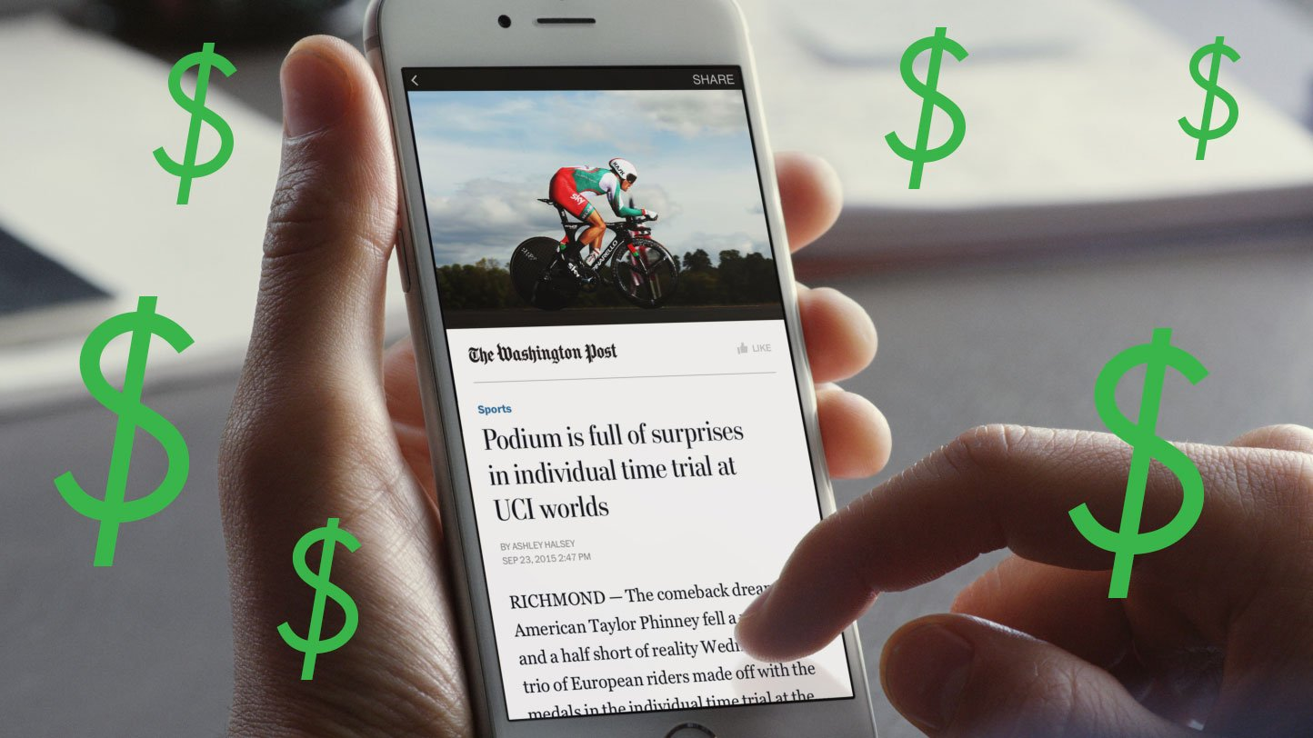 Facebook Paywalls Instant Articles