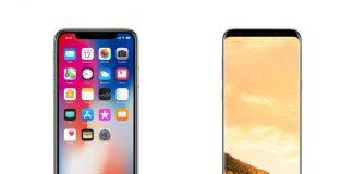 iphone-x-samsung-galaxy-s8-confronto