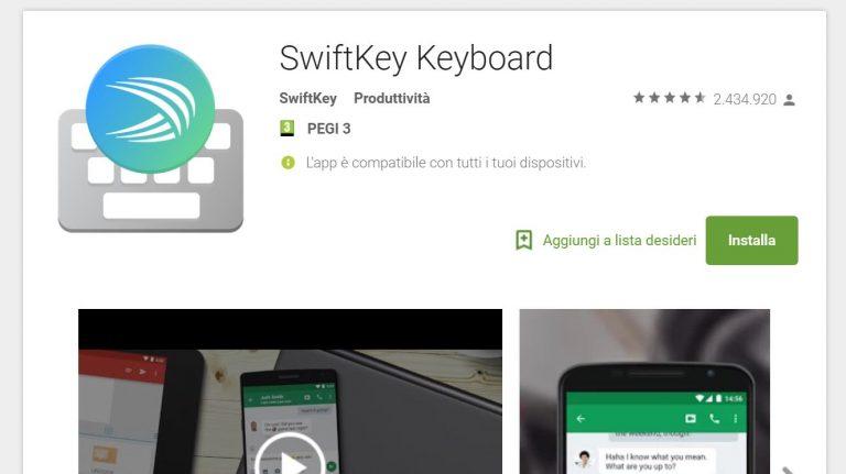 swiftkey-android-play-store