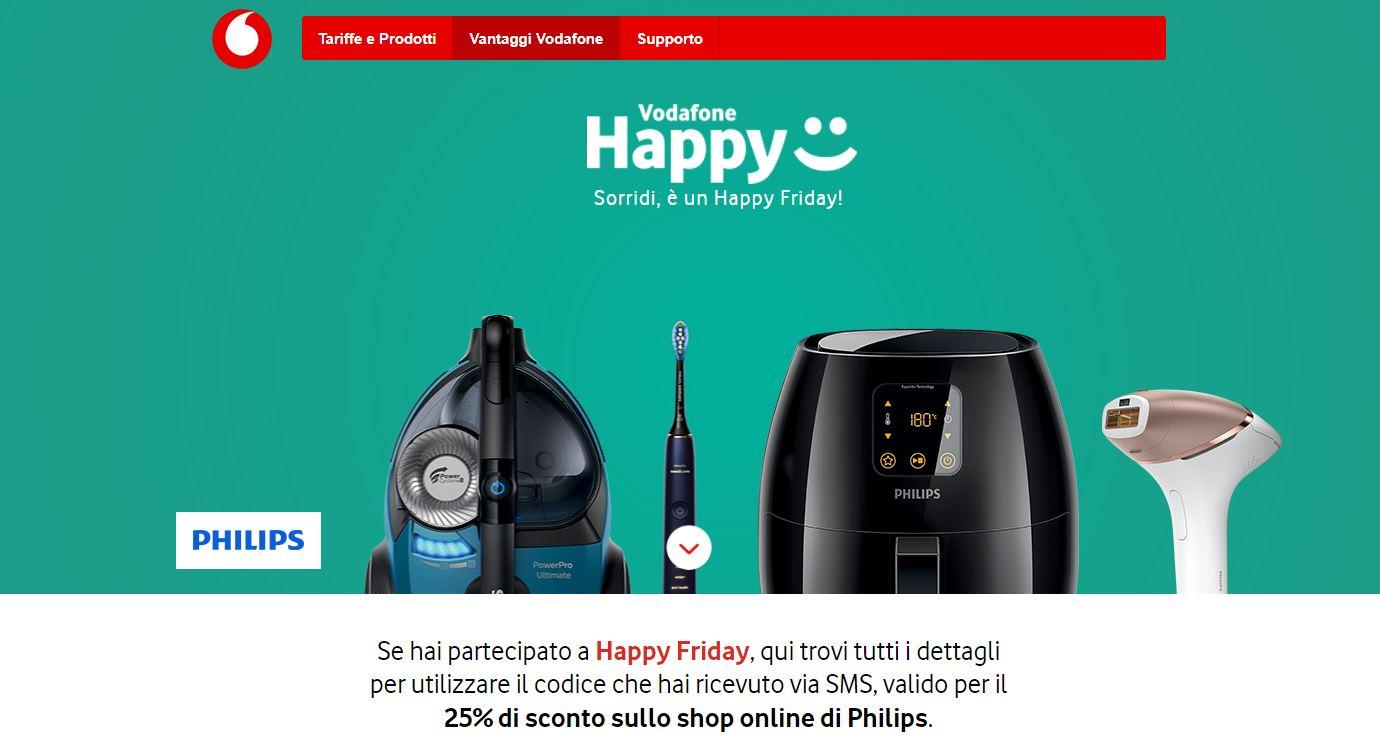 48b94088920 Vodafone Happy Friday: un vale de 25% de descuento para productos ...