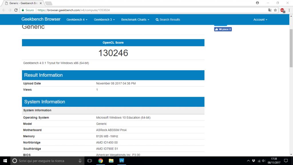 AMD Ryzen 5 1500x Rx 580