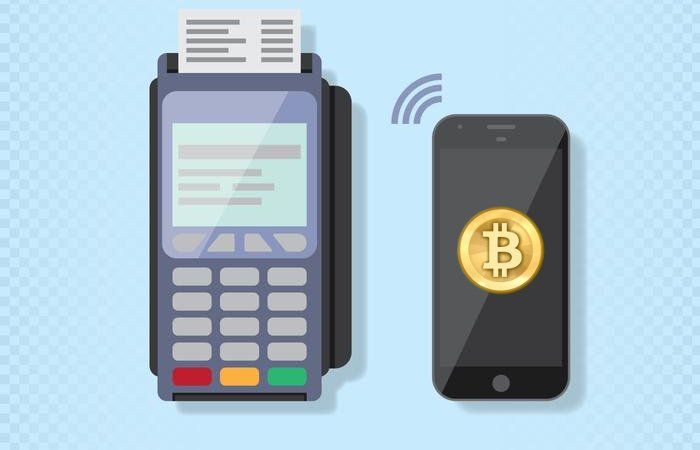 bitcoin pos pagamenti smartphone