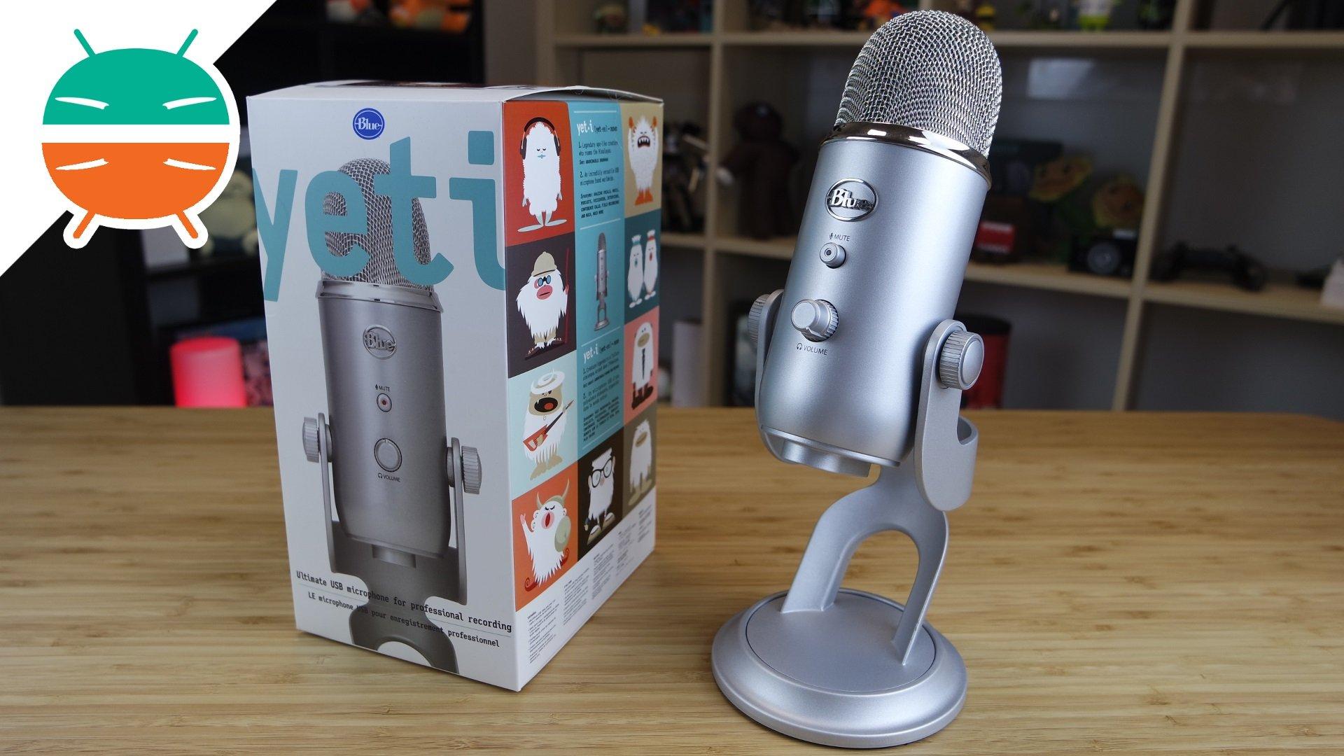 recensione blue yeti microfono
