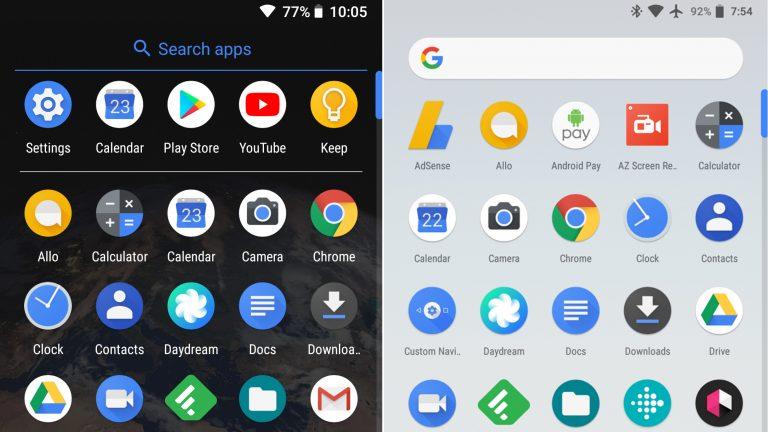 Google Pixel Laucher aggiornamento Android 8.1 Oreo