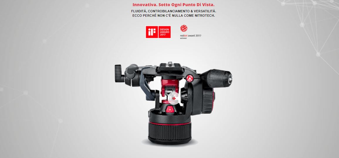 banner manfrotto nitrotech n12