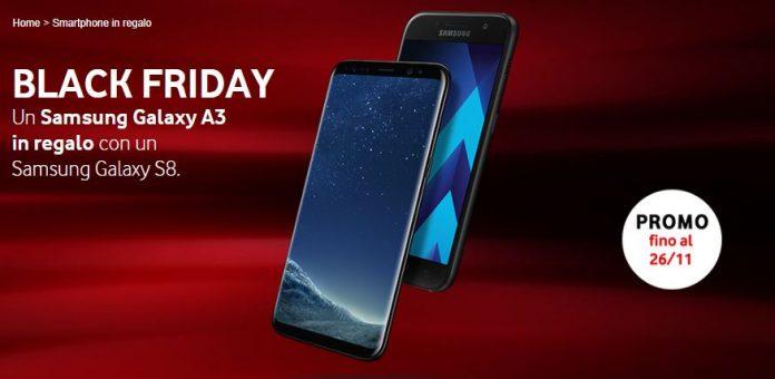 Vodafone Samsung Galaxy A3 2017 Black Friday