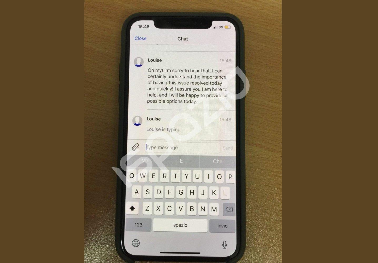 apple iphone x burn-in