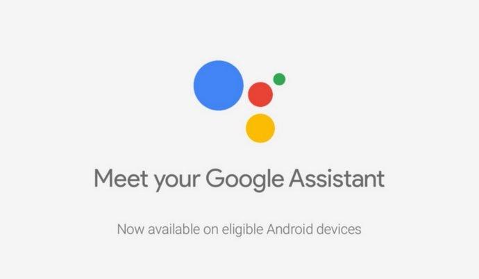 Banner do Assistente do Google