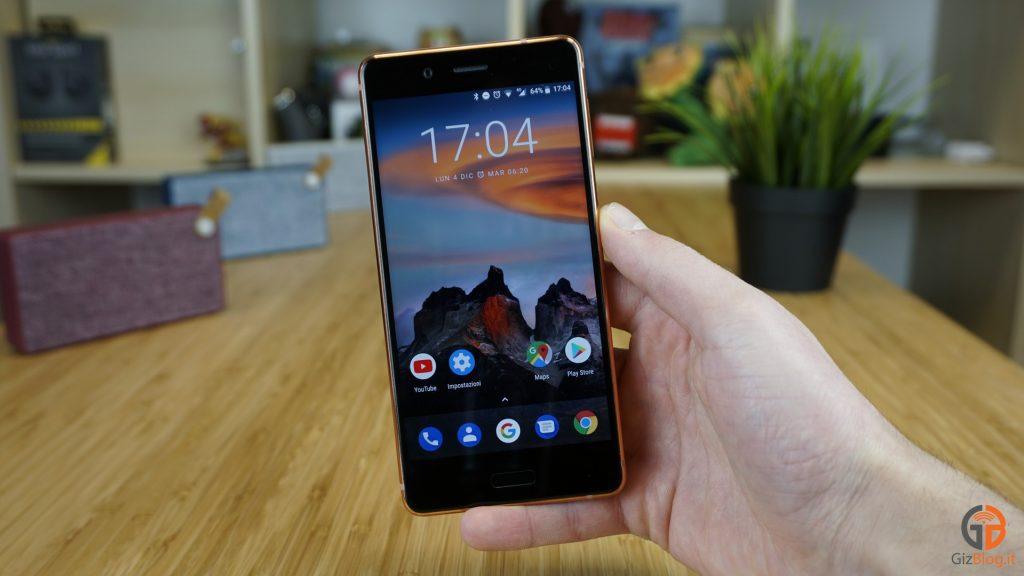 recensione Nokia 8 Android 8.0 Oreo opinioni