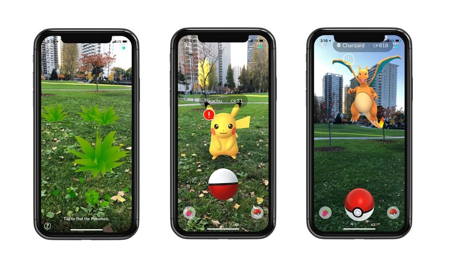 pokemon go apple arkit