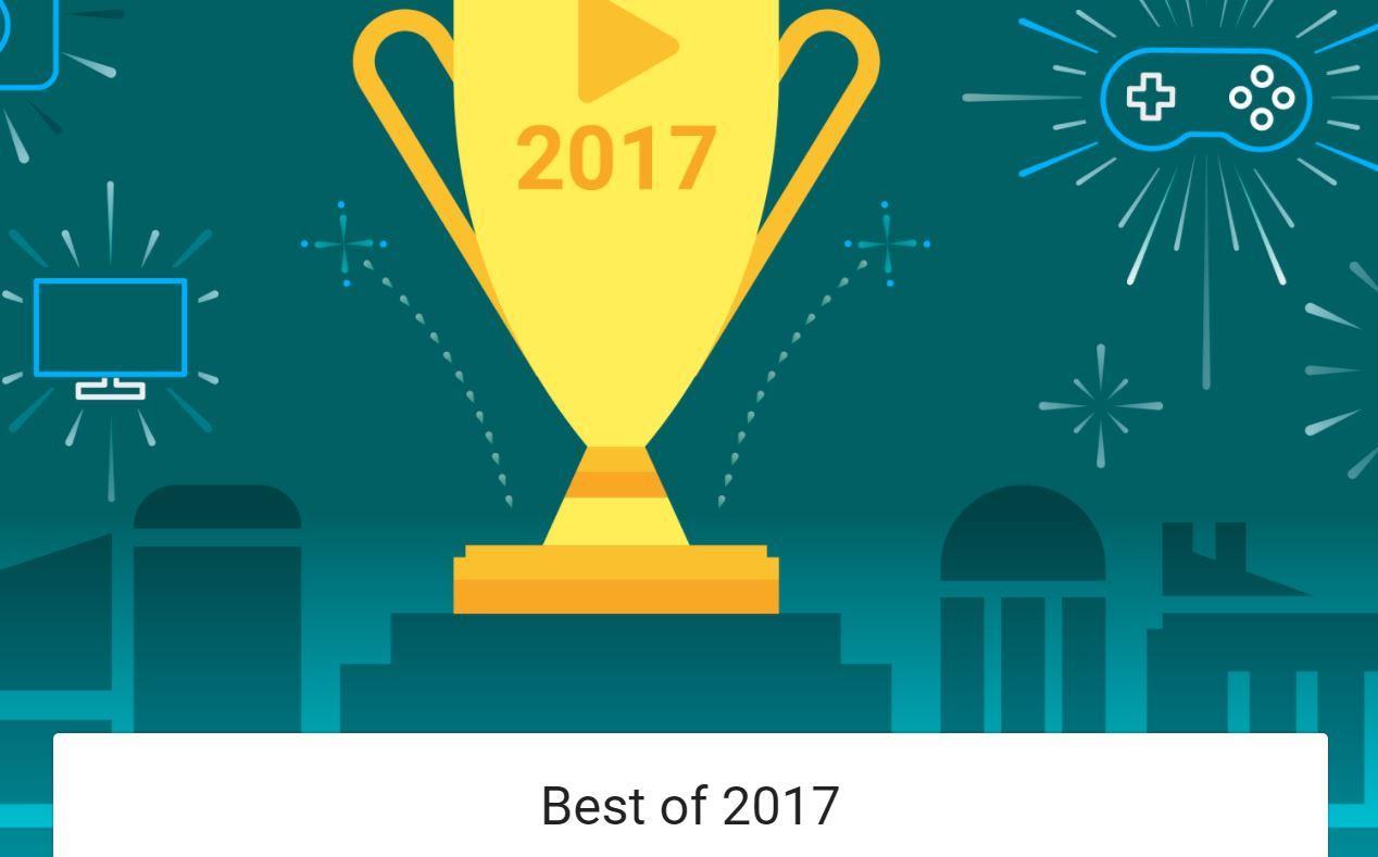 Google Play Store mejor aplicación 2017
