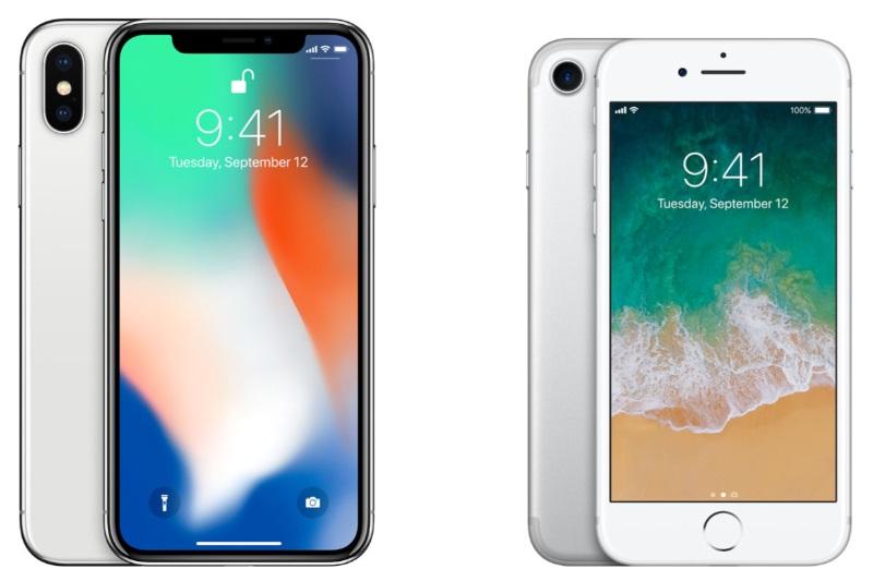 iphone 7 iphone x