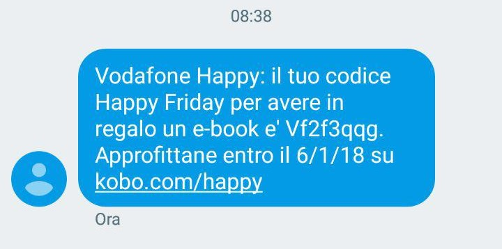 vodafone happy friday ebook sms
