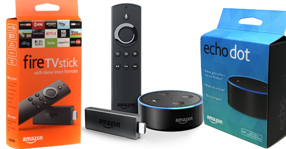 Echo Dot e Fire Stick