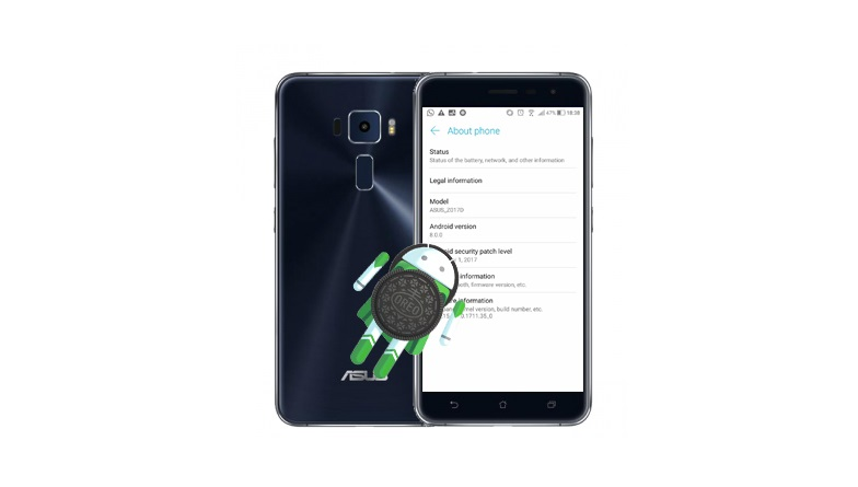 asus zenfone 3 aggiornamento android 8.0 oreo