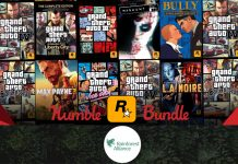 humble bundle rockstar games gta