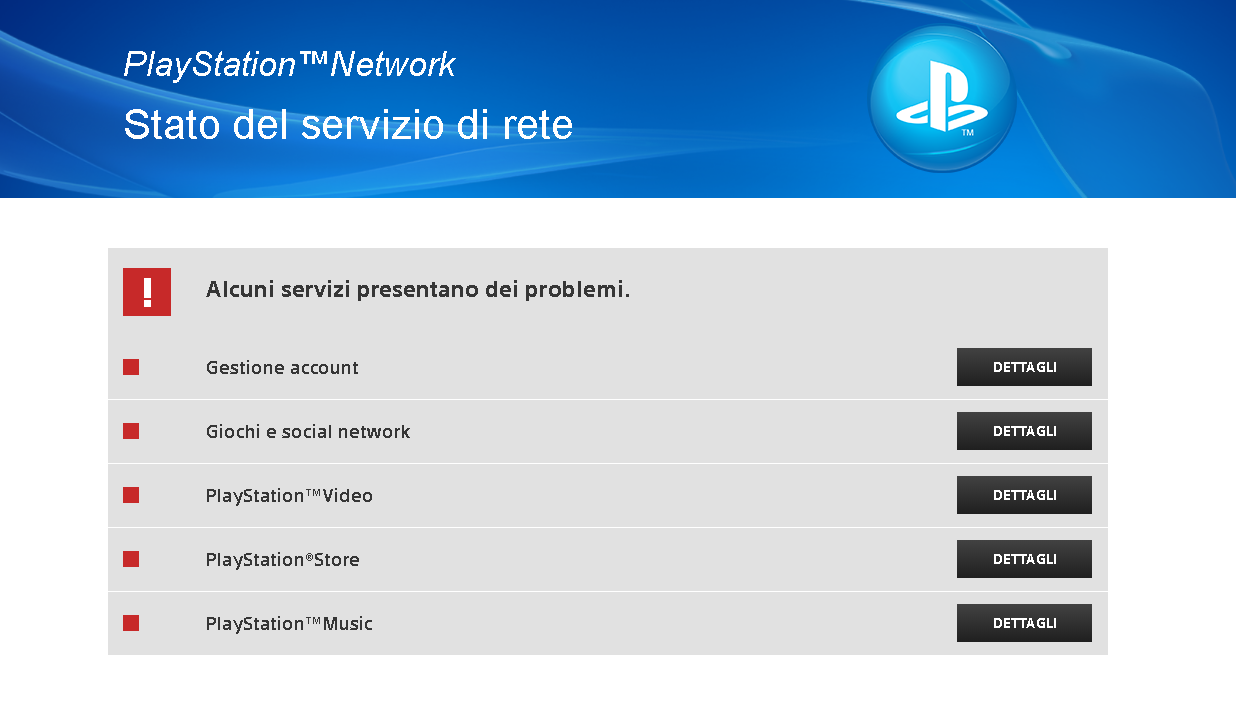 playstation network psn down