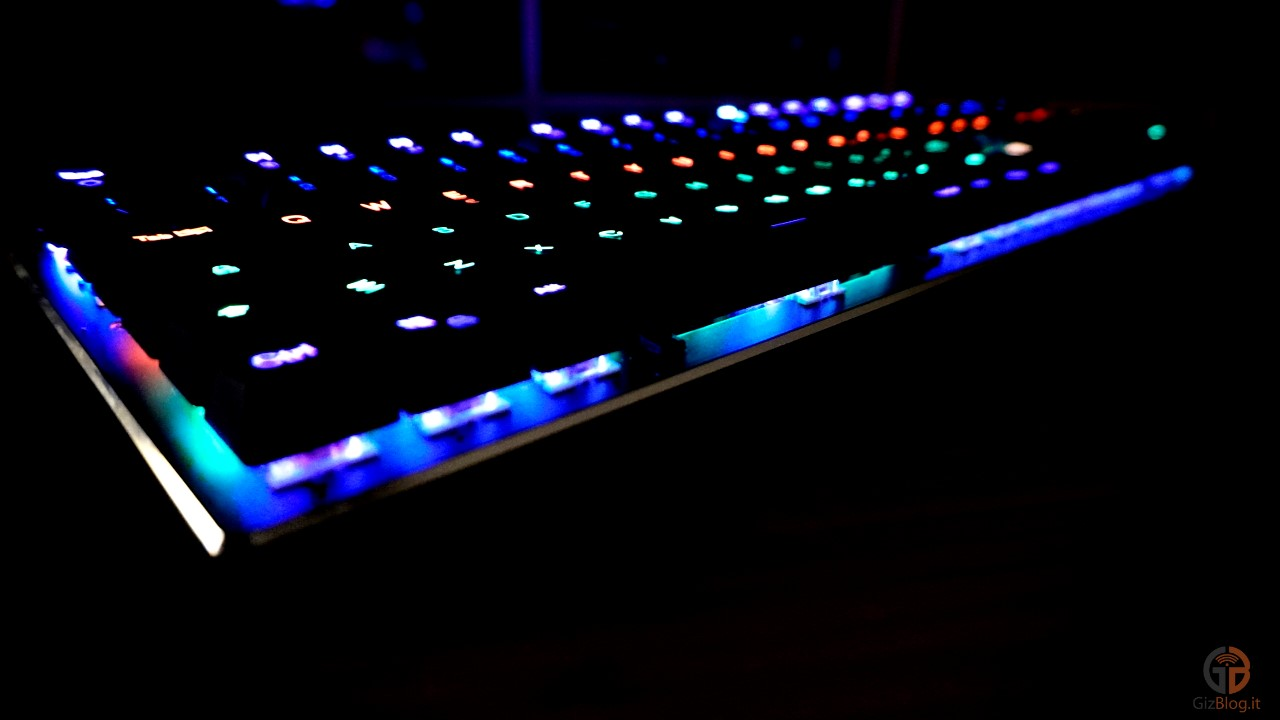 recensione acgam ac-109r tastiera meccanica
