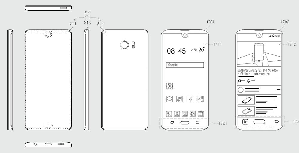 samsung brevetto essential phone