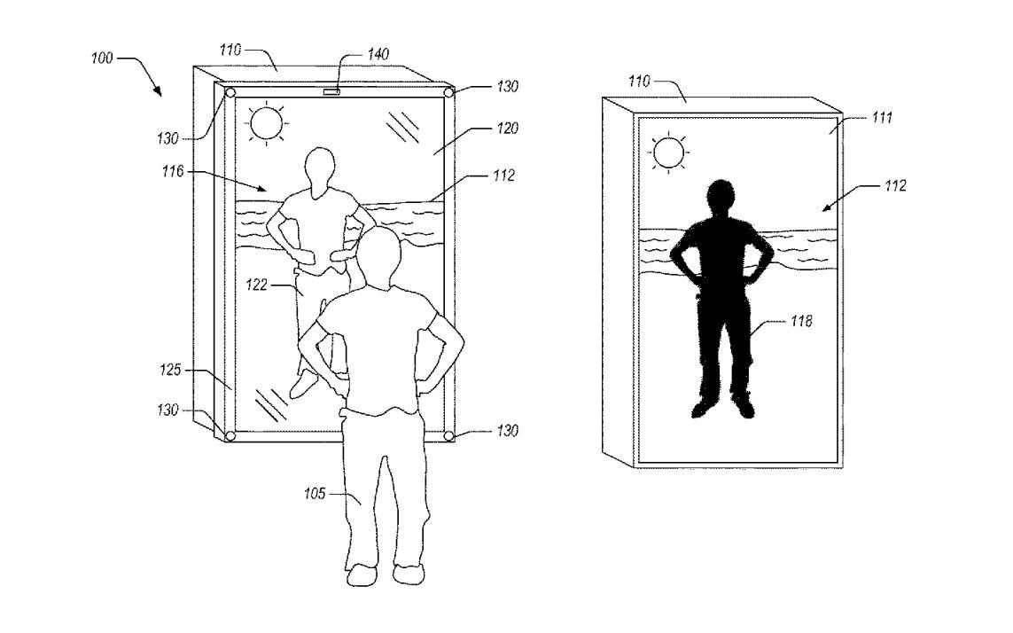 amazon specchio realtà mista brevetto