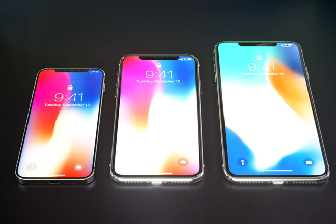 apple iphone 2018 render