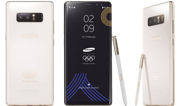 Samsung Note 8 PyeongChang 2018 Olympic Games Limited Edition