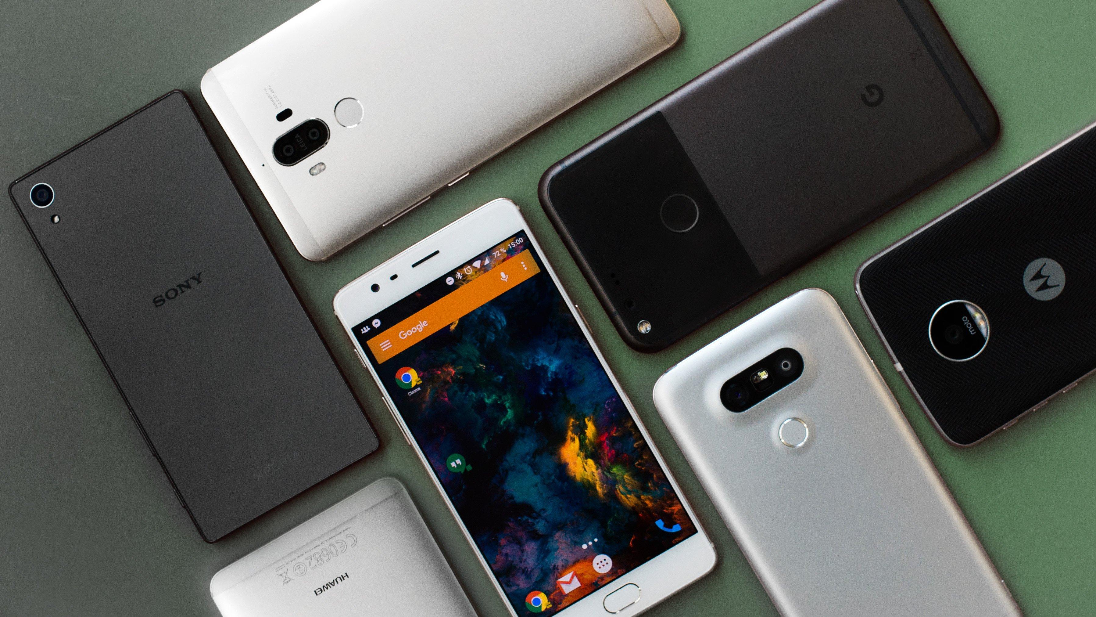 TrendForce wereldwijde smartphonemarkt