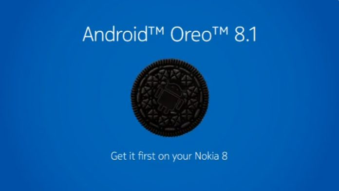 nokia 8 aggiornamento android 8.1 oreo
