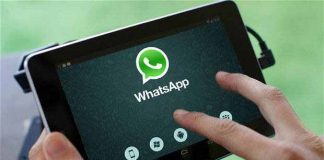 whatsapp tablet