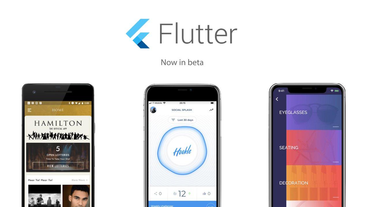 Flutter Beta Google