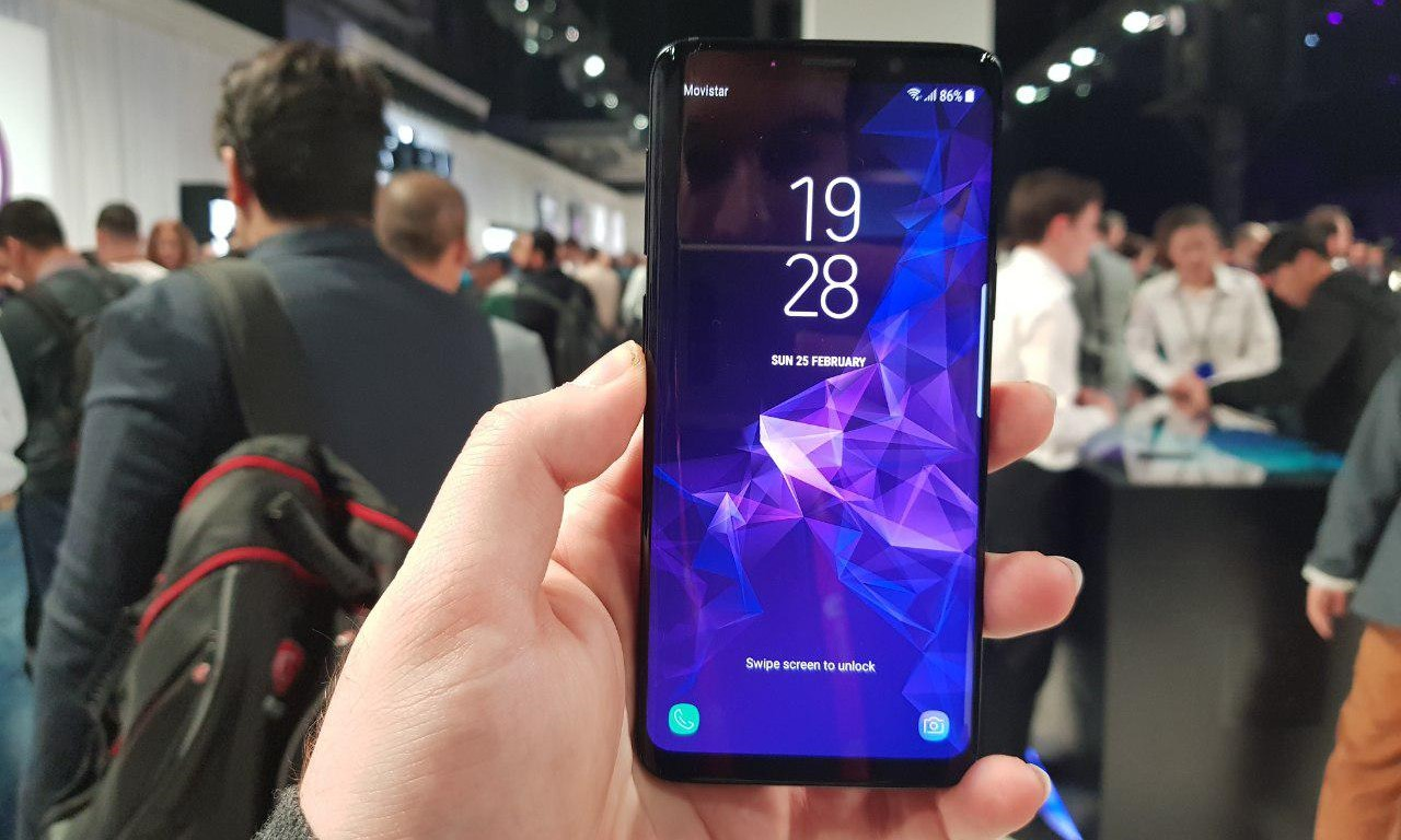 Samsung-Galaxie-s9-MWC-live-2018-01